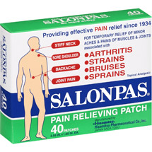 Salonpas Topical Analgesic Pain Relieving Patches