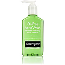 Neutrogena Redness Soothing Facial Cleanser Oil-Free Acne Wash -