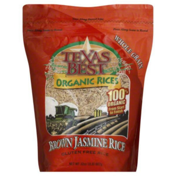 Texas Best Brown Jasmine Rice, Whole Grain