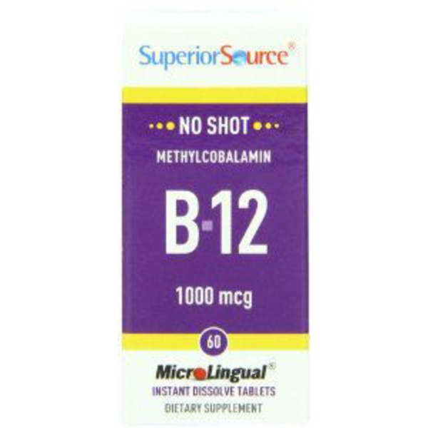 Superior Source Methylcobalamin B 12 1000 Mcg