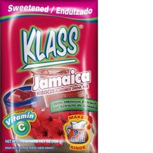 Klass Jamaica Hibiscus Flavored Drink Mix