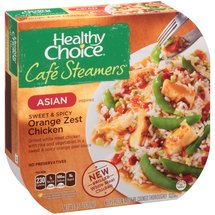 Healthy Choice Cafe Steamers Asian Inspired Sweet & Spicy Orange Zest Chicken