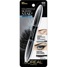 L'Oreal Paris Voluminous Superstar Waterproof Mascara Black