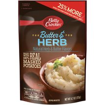 Betty Crocker Homestyle Butter & Herb Mashed Potatoes