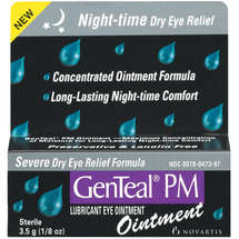 Genteal PM Ointment Severe Dry Eye Relief Formula Lubricant Eye Ointment