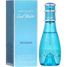 Davidoff Cool Water Woman Eau De Toilette Natural Spray