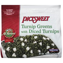 Pictsweet Turnip Greens With Diced Turnips