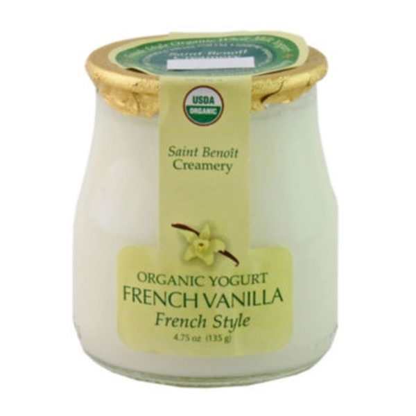 Saint Benoit Creamery French Vanilla Yogurt Vanilla