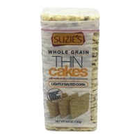 Suzie's Crackers, Puffed, Lightly Salted Corn
