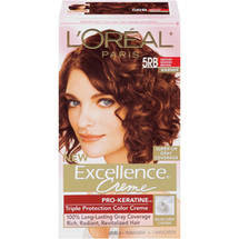 L'Oreal Excellence Creme Triple Protection Medium Reddish Brown Natural 5 Hair Color