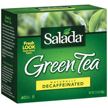 Salada Naturally Decaffeinated Green Tea Bags