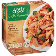 Healthy Choice Cafe Steamers Top Chef Grilled Chicken Marinara with Parmesan