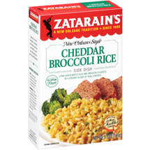 Zatarain's Cheddar Broccoli Rice New Orleans Style