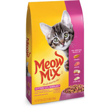 Meow Mix Kitten Lil Nibbles Dry Cat Food