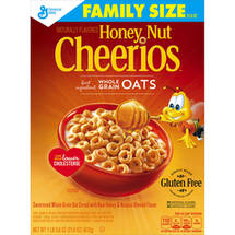 Honey Nut Cheerios Sweetened Whole Grain Oat Cereal