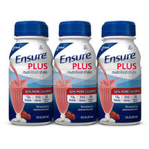Ensure Strawberries & Cream Balanced Nutrition Shake 6 Ct/