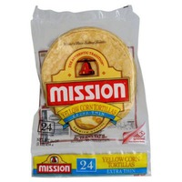Mission Yellow Corn Extra Thin Tortillas
