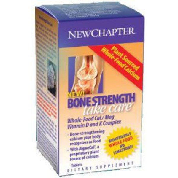 New Chapter Bone Strength Take Care Supplements