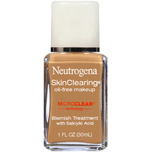 Neutrogena Skinclearing Oil-Free Makeup Natural Tan 100