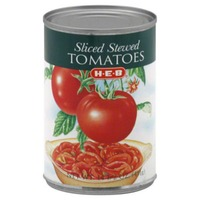 H-E-B Sliced Stewed Tomatoes