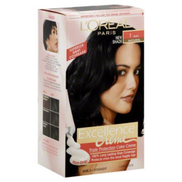Excellence Creme Triple Protection 1 Natural Black Hair Color