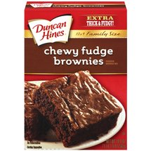Duncan Hines Family Style Chewy Fudge Brownies