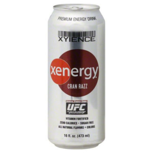 xenergy Xyience Xenergy Cran Razz Energy Drink