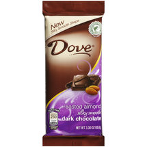Dove Roasted Almond Silky Smooth Dark Chocolates