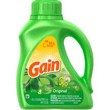 Gain with FreshLock Original Liquid Laundry Detergent