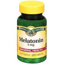 Spring Valley Melatonin 3 mg