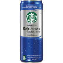 Starbucks Refreshers Blueberry Acai Revitalizing Energy Drink