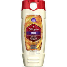 Old Spice Fresher Collection Amber Scent Body Wash