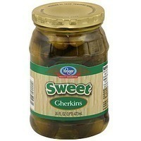Kroger Sweet Gherkins