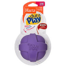 Hartz Dura Play Large Ball Dog Toy Color May Vary