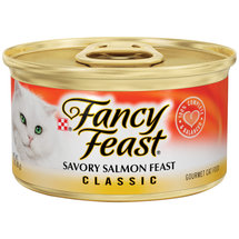 Fancy Feast Savory Salmon Feast Cat Food