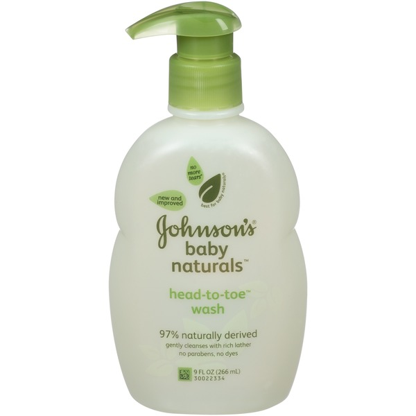 Johnson's® Naturals™ Head-to-Toe® Baby Wash Baby Bath
