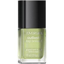 CoverGirl Outlast Stay Brilliant Nail Gloss 142 Salt Water Taffy