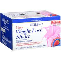 Equate Ultra Weight Loss Shake Strawberry