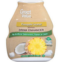 Great Value Pineapple Coconut Drink Enhancer
