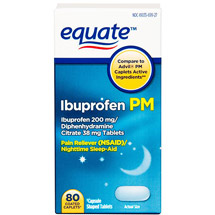 Equate Ibuprofen 200mg PM