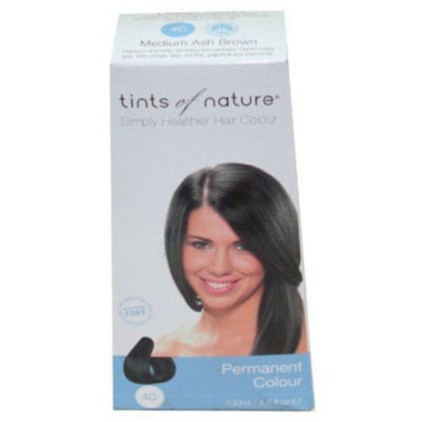 Tints Of Nature Conditioning Permanent Colour 4C Medium Ash Brown