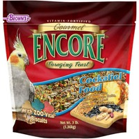 Brown's Encore Foraging Feast Cockatiel Food