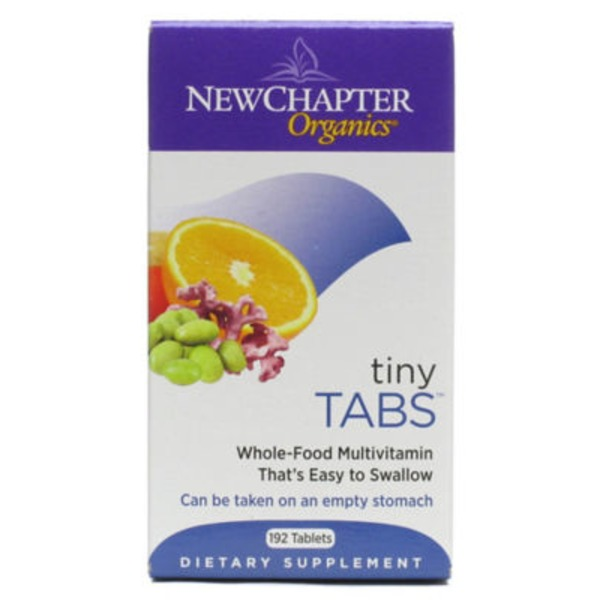 New Chapter Tiny Tabs Multivitamin Tablets