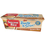 Success Whole Grain Brown Rice Ready To Serve 4.4 oz Rice