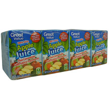Great Value 100% Juice Apple Juice