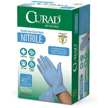 Medline Curad Nitrile Exam Glove