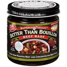 Superior Touch Better Than Bouillon Made From Roasted Beef And Concentrated Beef Stock Beef Base