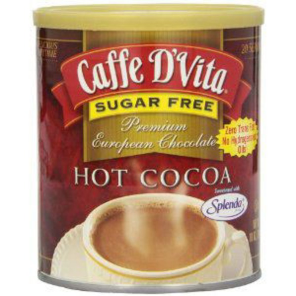 Caffe D'Vita Sugar Free Hot Cocoa Mix
