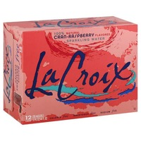 LaCroix Natural Cran-Raspberry Sparkling Water