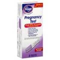 Kroger Pregnancy Test